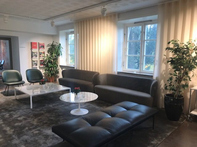 Pedab's office in Sweden